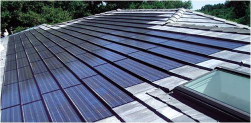 Solar Electric Roof Tiles 2 photos