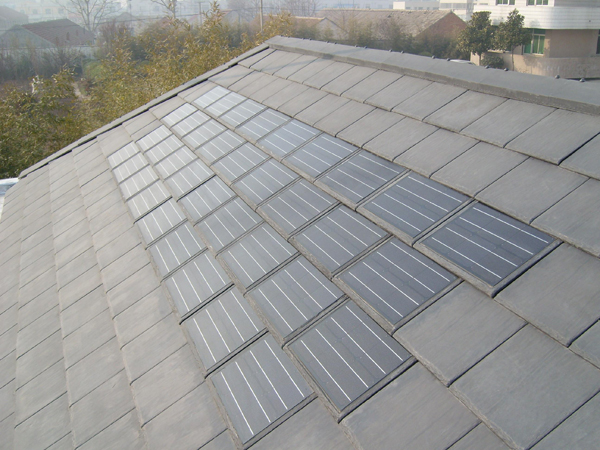 Solar Electric Roof Tiles images